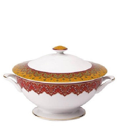 Dhara Red Soup Tureen