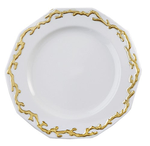 Mottahedeh Barriera Corallina Gold Dinnerware Collection - GDH | The decorators department Store - 1