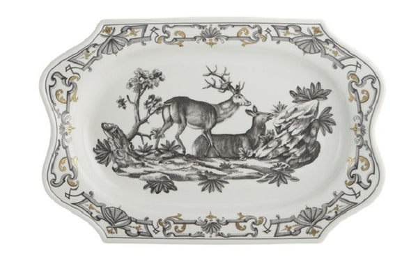Mottahedeh Dupaquier Platter - GDH | The decorators department Store