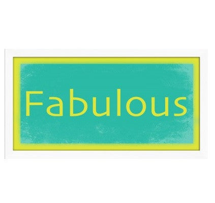 Fabulous in Yellow & Teal