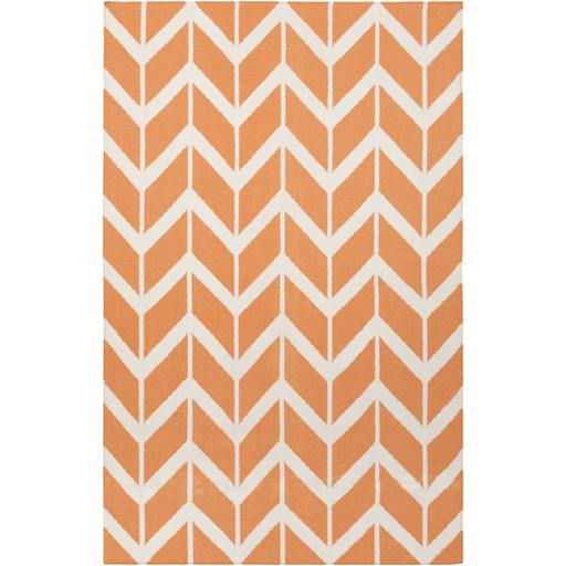 Fallon Reversible Rug | Orange - GDH | The decorators department Store - 1