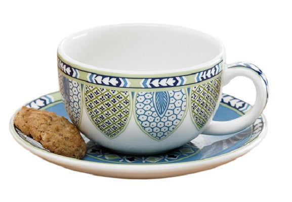Mottahedeh |  Gibraltar Cup and Saucer - GDH | The decorators department Store