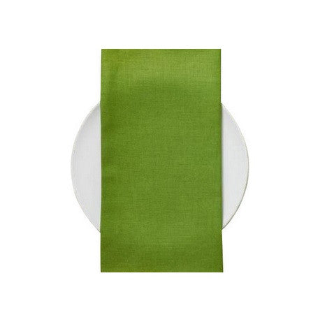 Chilewich Linen Napkins S/8 | Grass - GDH | The decorators department Store