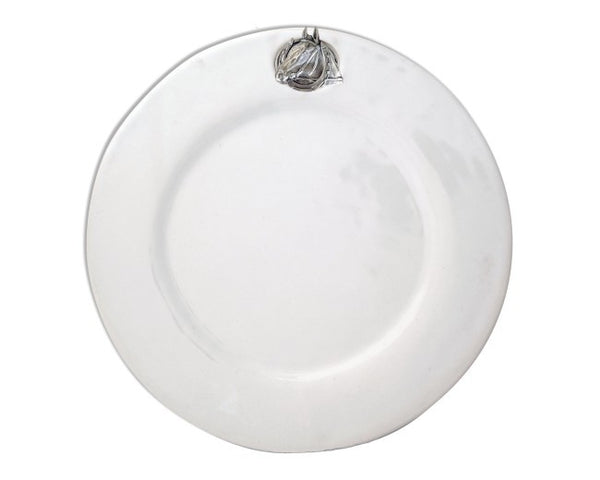 Equestrian Horseshoe Stoneware Dinner Plate