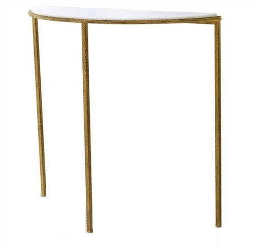 Global Views Hammered Gold Console - GDH | The decorators department Store