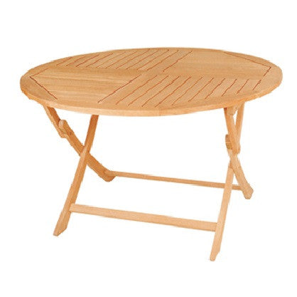 Jett Round Folding Table - GDH | The decorators department Store