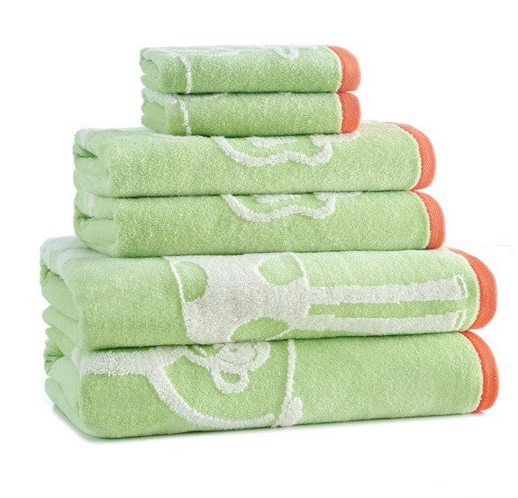 Jungle Bath Towel S/6