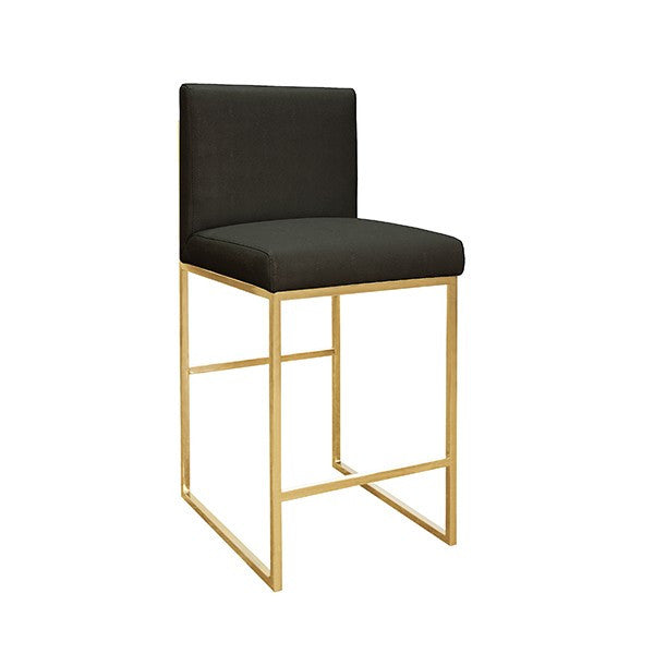 Kingston Counter Stool | Black
