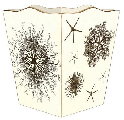 Sea Urchins Wastebasket - GDH | The decorators department Store