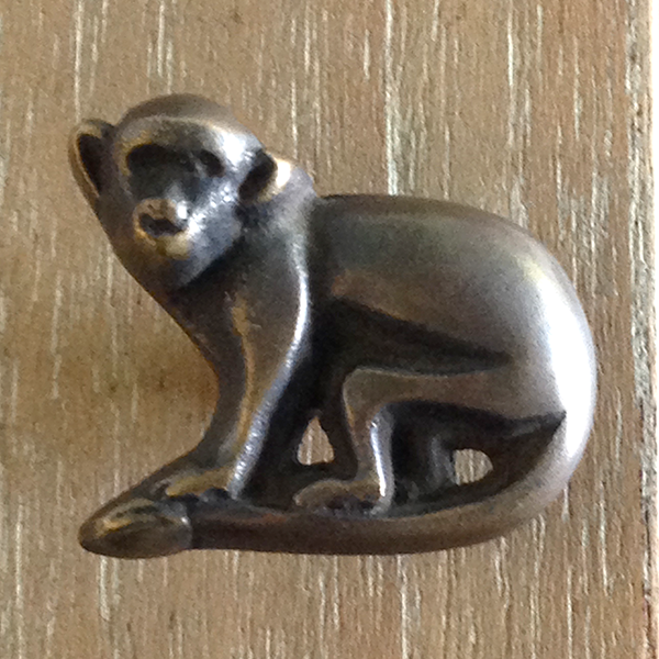 Bronze Monkey Door Pull  S/12 - GDH | The decorators department Store