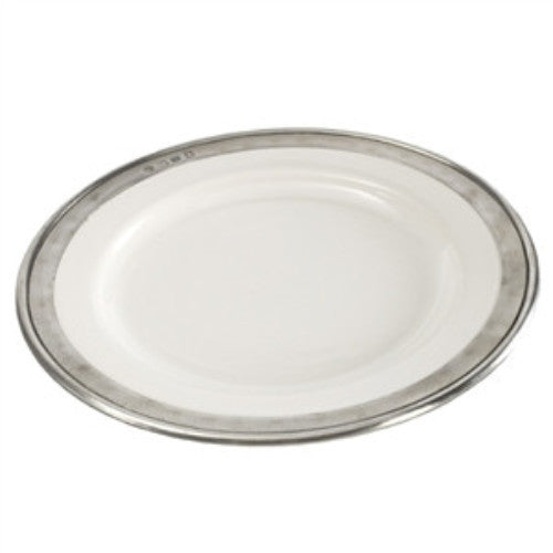 "Match Pewter Convivio Classic White Salad/Dessert Plate  8.5"" - GDH 