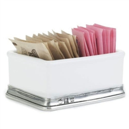 Match Pewter Convivio Sugar Packet Holder - GDH | The decorators department Store