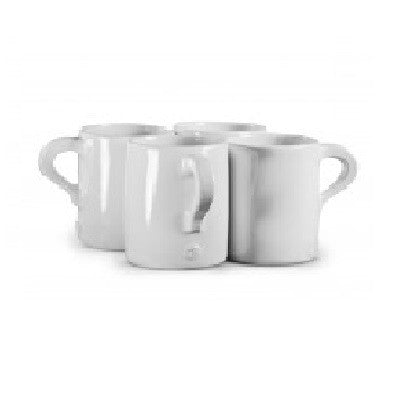 "Mug No. ""One Hundred Twenty Eight"" Set of 4 - GDH 