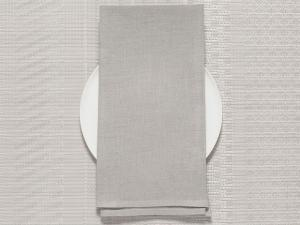Chilewich Single-Sided Linen Napkins-Set of 8  | Bone