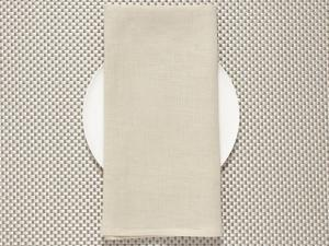 Chilewich Single-Sided Linen Napkins-Set of 8 | Sage