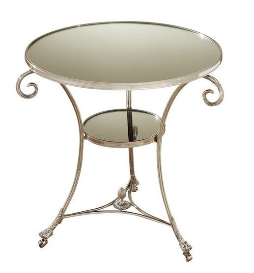 Gueridon Table-Nickel