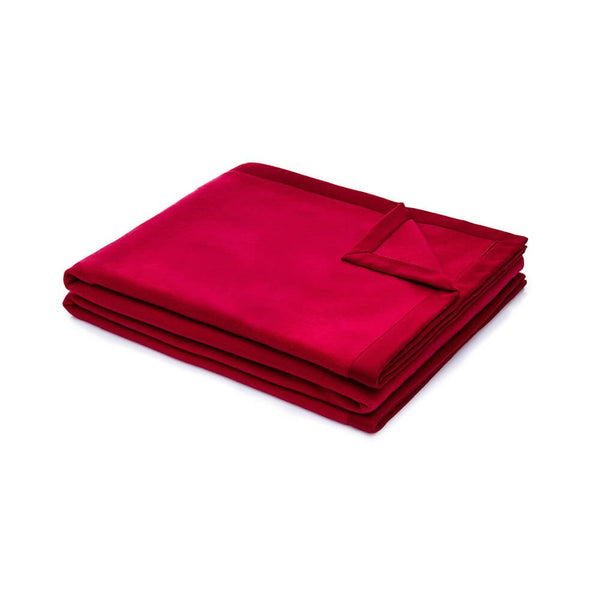 Night and Day Merino Wool Blanket | Red