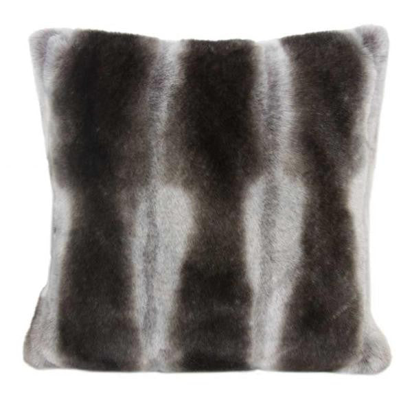 Faux Fur Pillow | Chinchilla - GDH | The decorators department Store