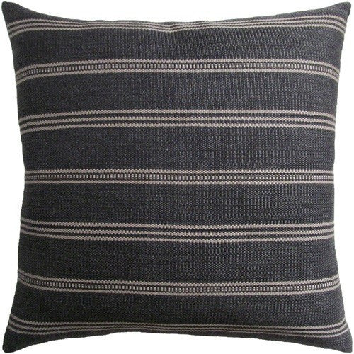 Ojai Indoor/Outdoor Pillow | Graphite - GDH | The decorators department Store