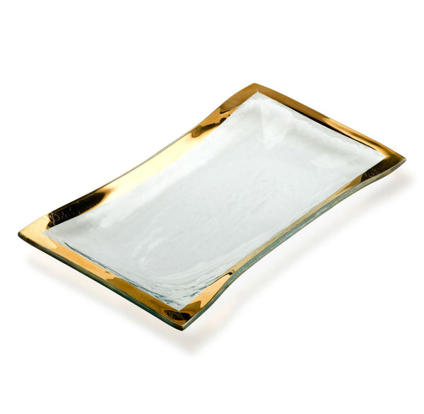 Annieglass Roman Antique | Olive Tray - GDH | The decorators department Store