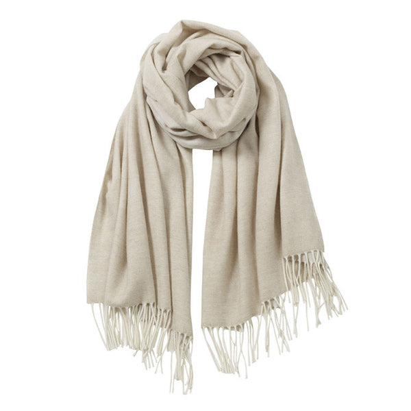 AVvOLTO Oatmeal Cashmere Merino Italian Scarf - GDH | The decorators department Store - 1