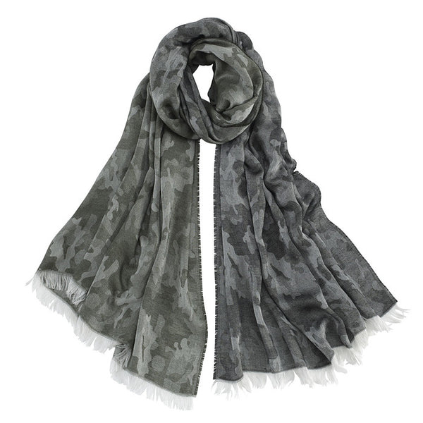 AVvOLTO Camouflage Scarf - GDH | The decorators department Store