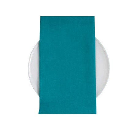 Chilewich Linen Napkins S/8 | Peacock - GDH | The decorators department Store