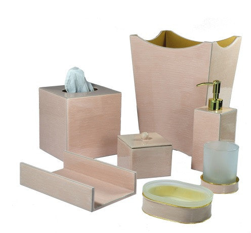 Essentials Seashell Enamel Bath Accessories - GDH | The decorators department Store - 1