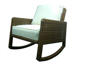 Panama Jack St Barths Rocking Chair w/cushion - GDH | The decorators department Store