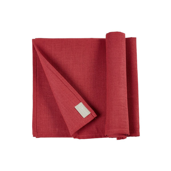Polylin Napkins by Libeco | Strawberry