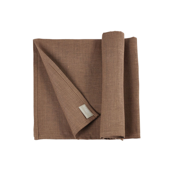 Polylin Napkins by Libeco S/6| Taupe