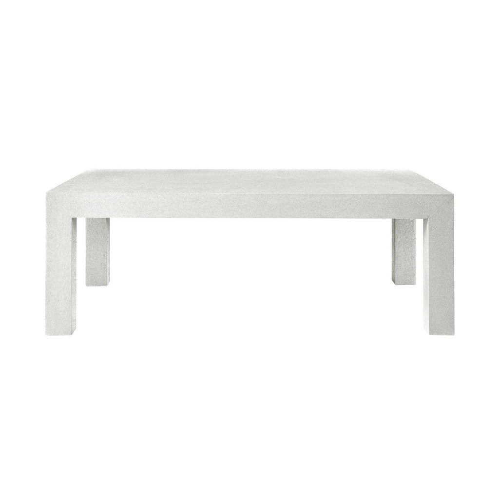 Parsons Coffee Table - White - GDH | The decorators department Store