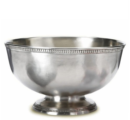 Match Pewter Punch Bowl