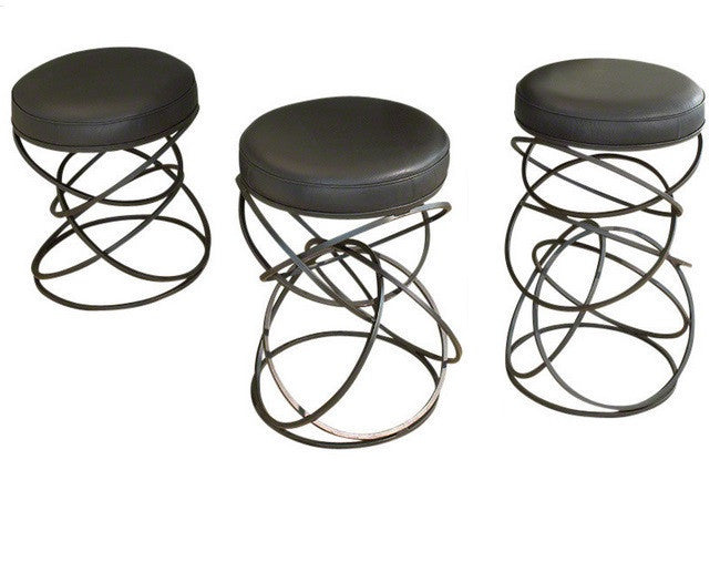 Global Views Dancing Ring Stools - GDH | The decorators department Store