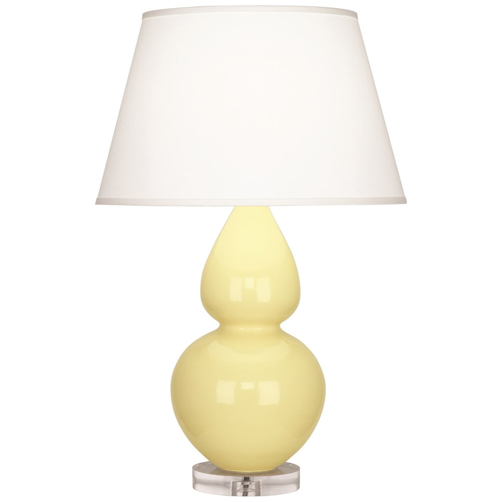 Robert Abbey Double Gourd Table Lamp | Butter