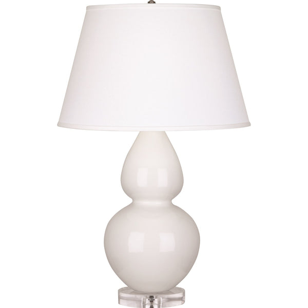 Robert Abbey  Double Gourd Lamp | White