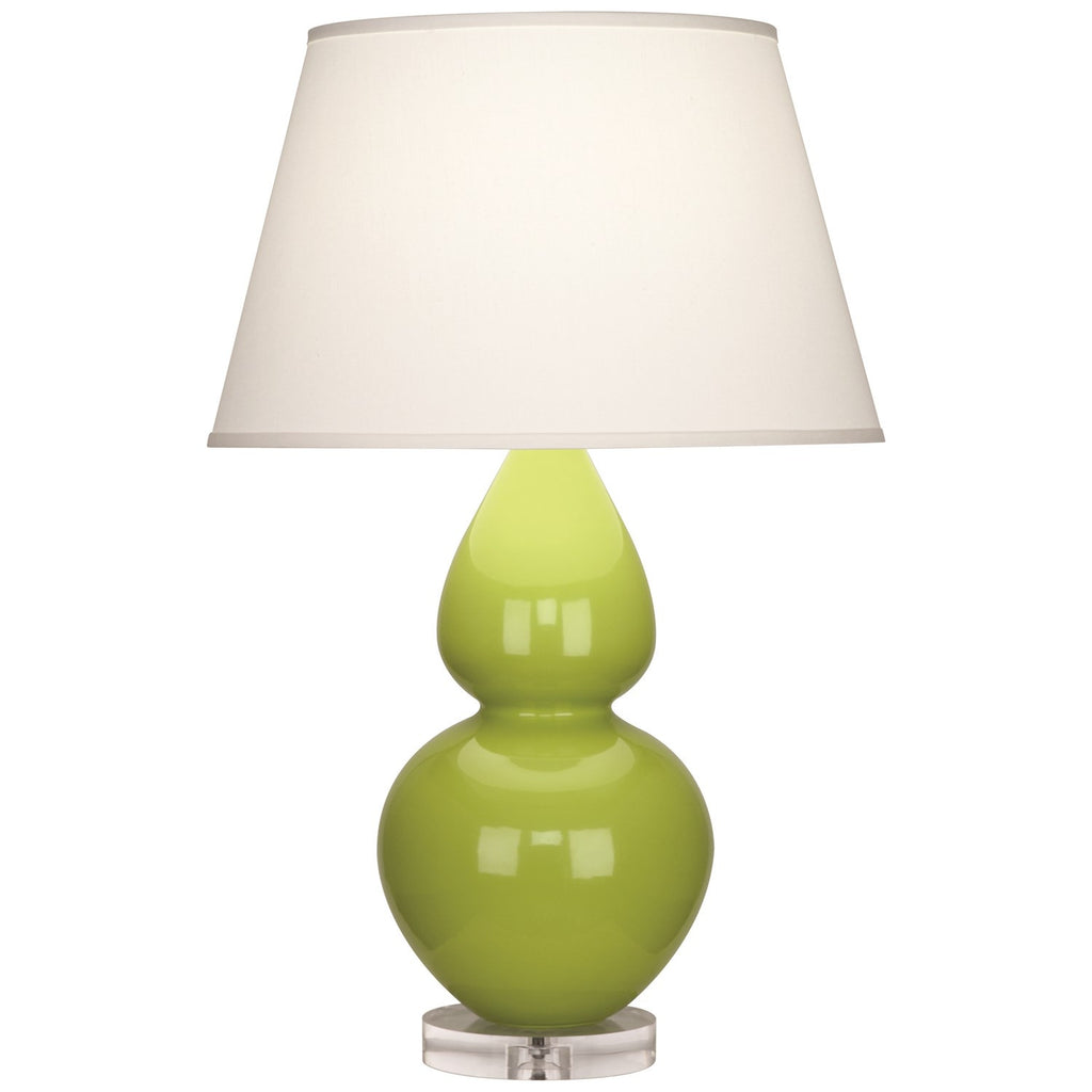 Robert Abbey Gourd Table Lamp | Apple Green