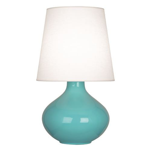 June Table Lamp | Egg Blue