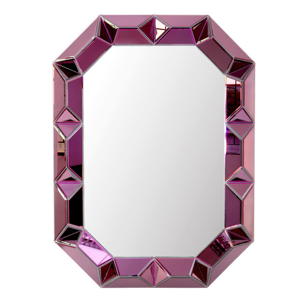 Romano Wall Mirror | Amethyst - GDH | The decorators department Store