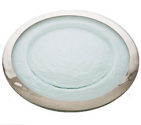 Annieglass Roman Antique Round Platter - GDH | The decorators department Store