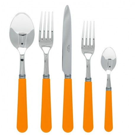 Sabre Basic Yellow Flatware - CITY LIFE CATALOG