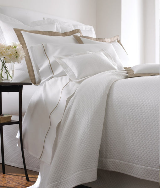 Firenze Matelasse Coverlet by Legacy Linens