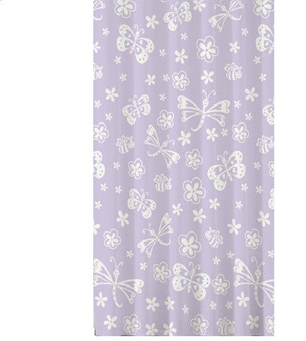 Butterfly Bath Shower Curtain