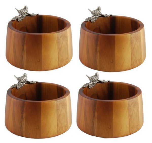 Song Bird Individual Salad Bowls