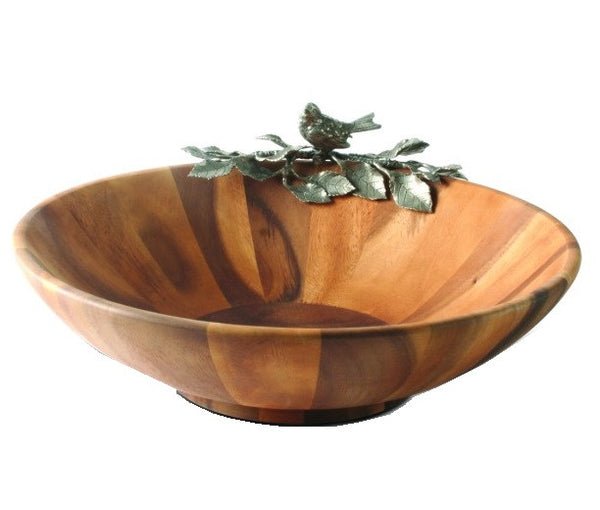 Song Bird Salad Serving Bowl