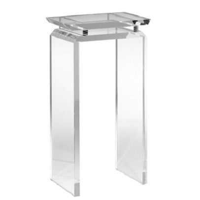 La Paz Acrylic Pedestal - GDH | The decorators department Store