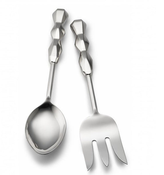 Ibiza Vegetable Spoon & Meat Fork Box Set