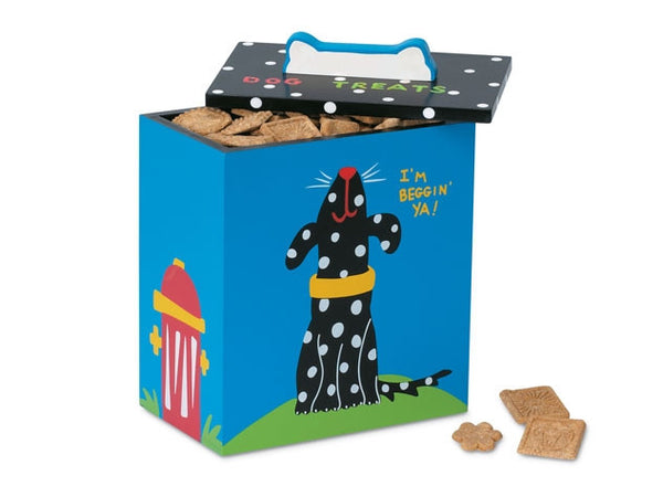Black and White Dog Treat Box - GDH | The decorators department Store