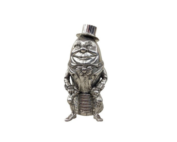 Humpty Dumpty Pewter Music Box