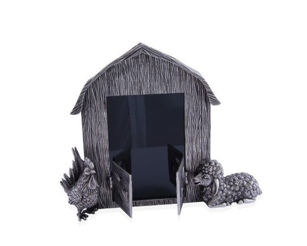 Pewter MacDonald s Barn Animals Frame